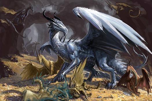 Here there be Dragons by BenWootten