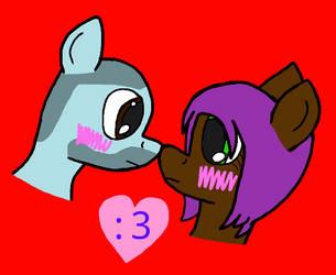 Gameplay and Lil-Mizz-Jay's Pony by Nightcaster460