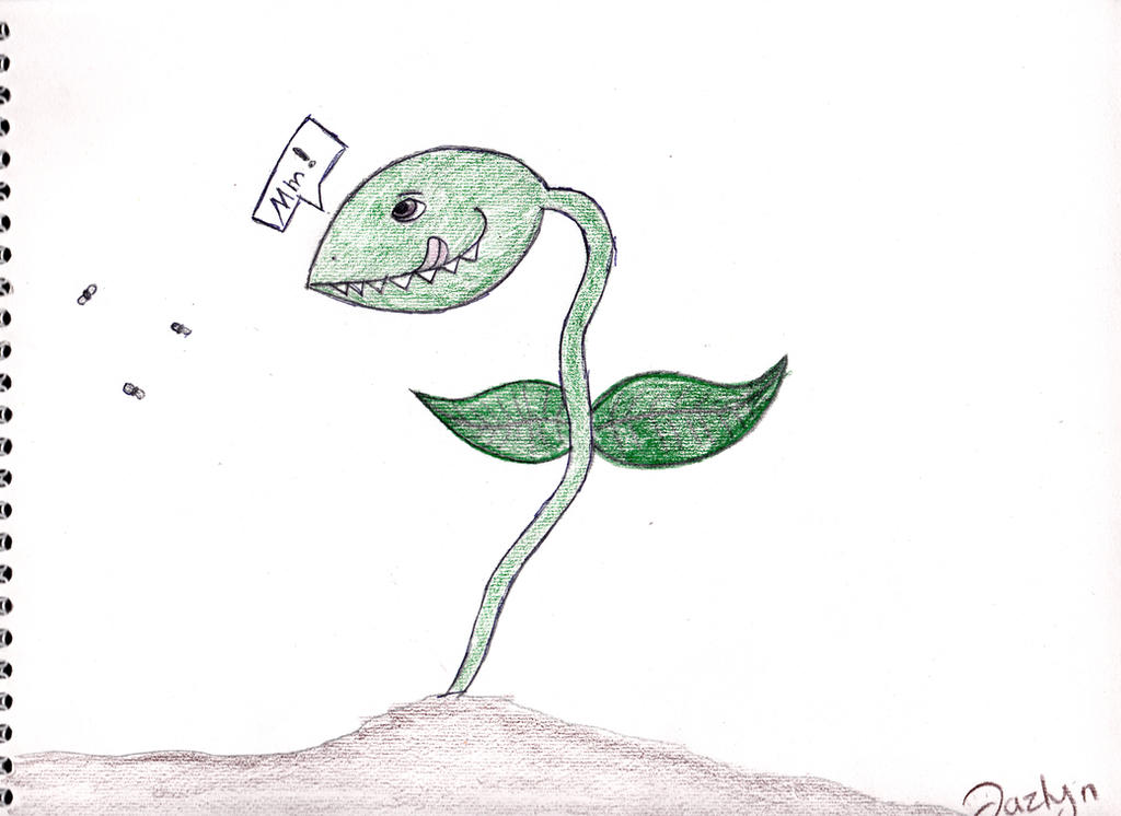 how to draw a venus fly trap