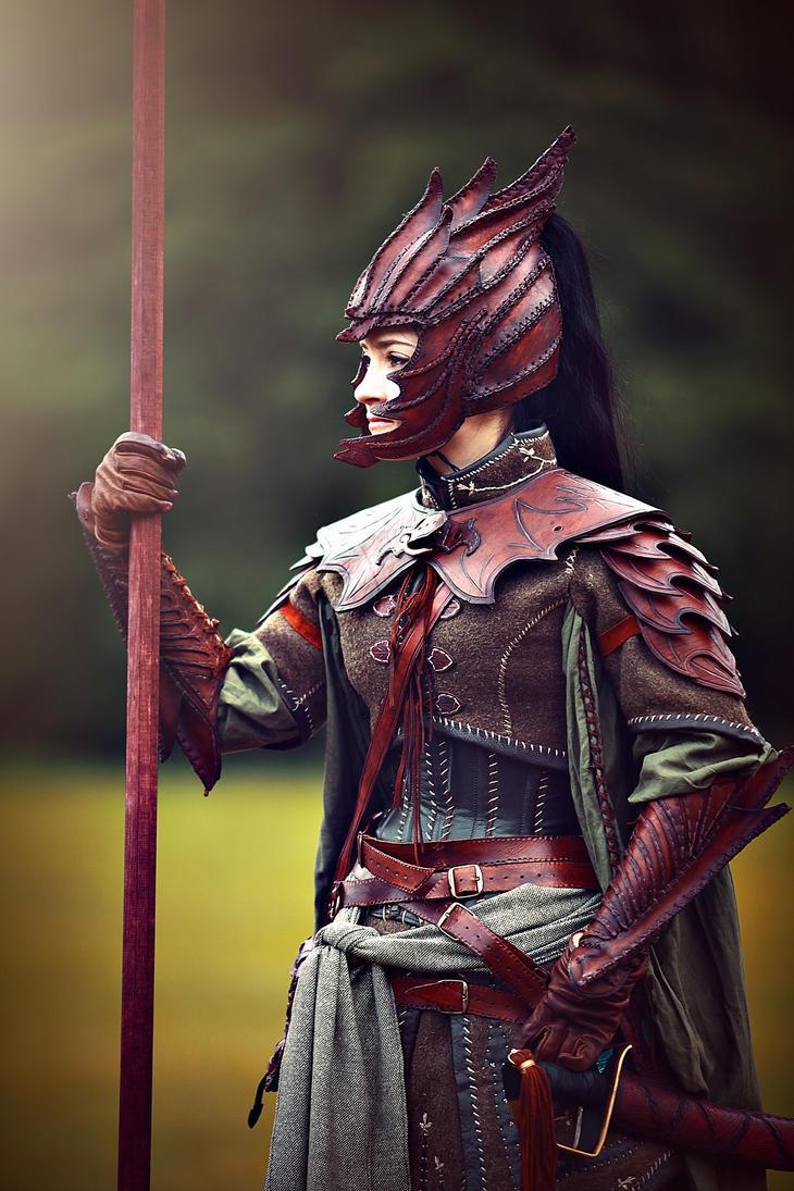 Elven Warrior by morgoth87