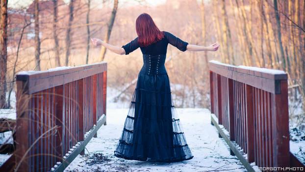 Winter goth