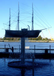 Ship Statue by funwes