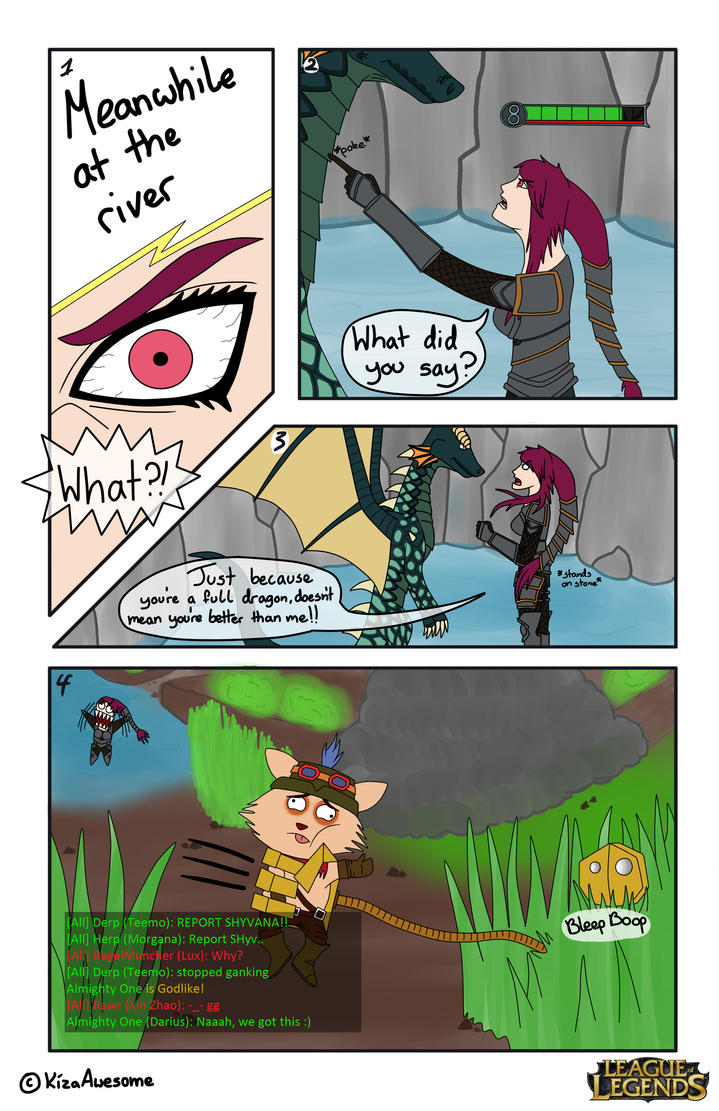 My League of Legends Comic Contest entry (.bmp) by ...