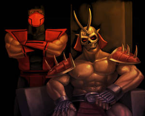 Shao Khan and Ermac