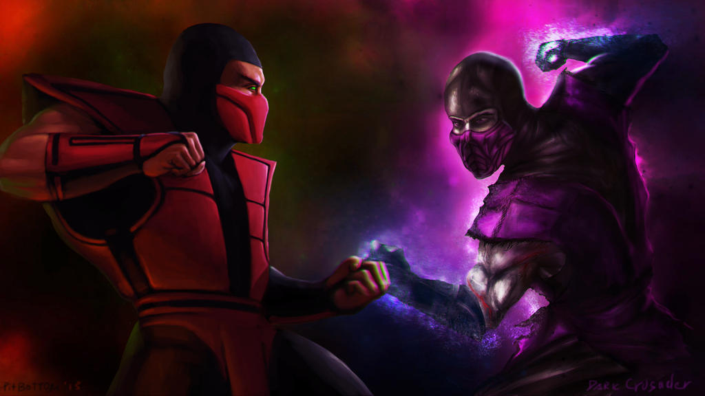 ERMAC VS RAIN by PitBOTTOM