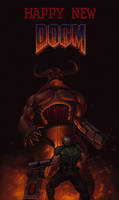HAPPY NEW DOOM! by PitBOTTOM