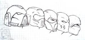 Masks (sketch 2)