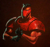 red Visor by PitBOTTOM