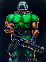 DoomGuy by PitBOTTOM