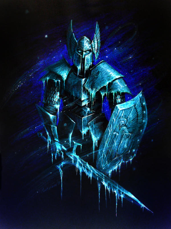 Frozen knight by PitBOTTOM