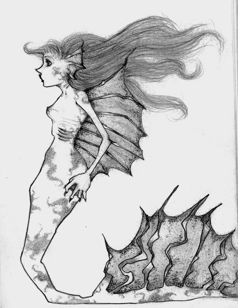 Mermaid I by PuffyShirt