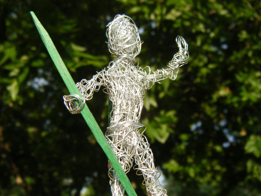 Wire man is king of the world by Emotional-Silence