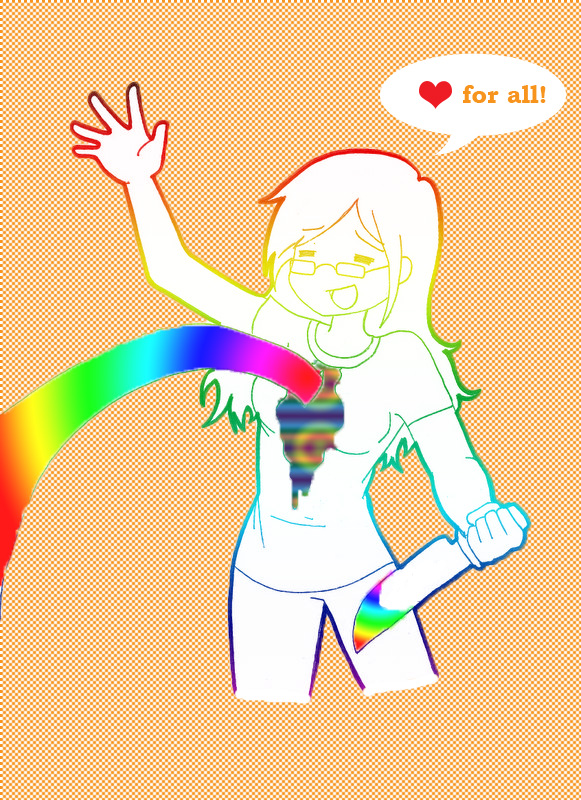 Sam's lovely rainbow :DD by MrGrumpyy