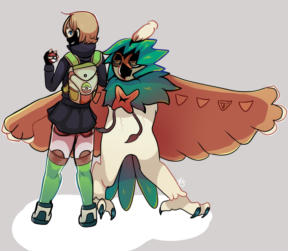 decidueye and chestnaught trying - photo #9