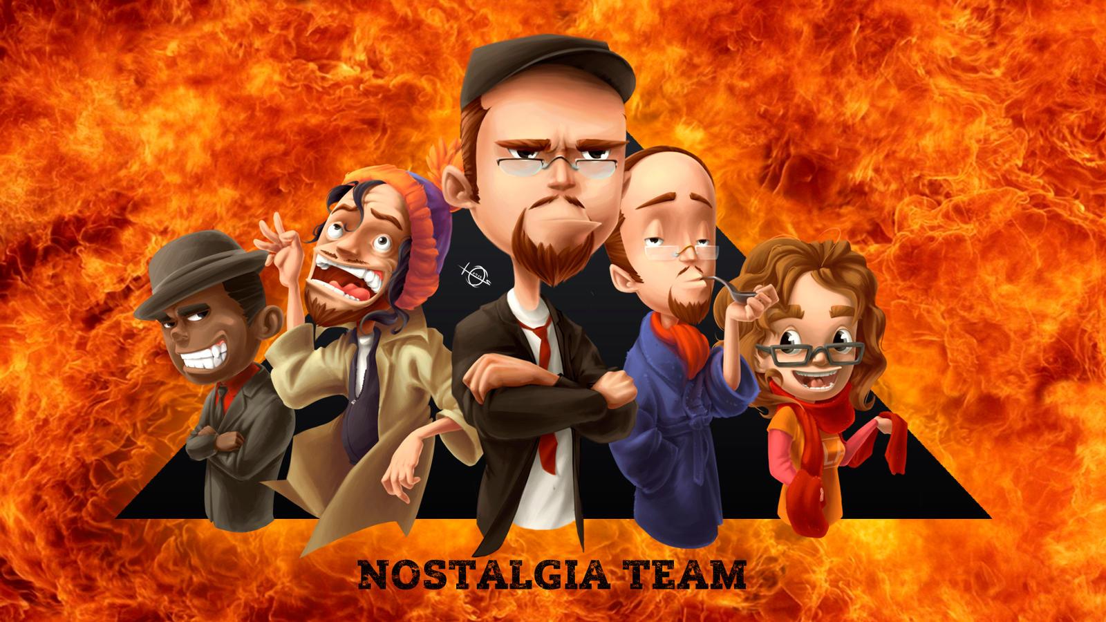 Nostalgia Team by Jorn-Siberian