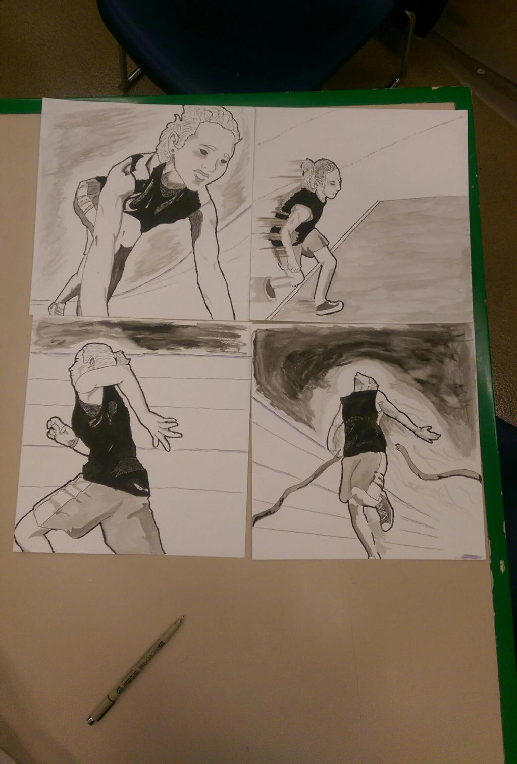 More Ink Work by BlackKusanagi
