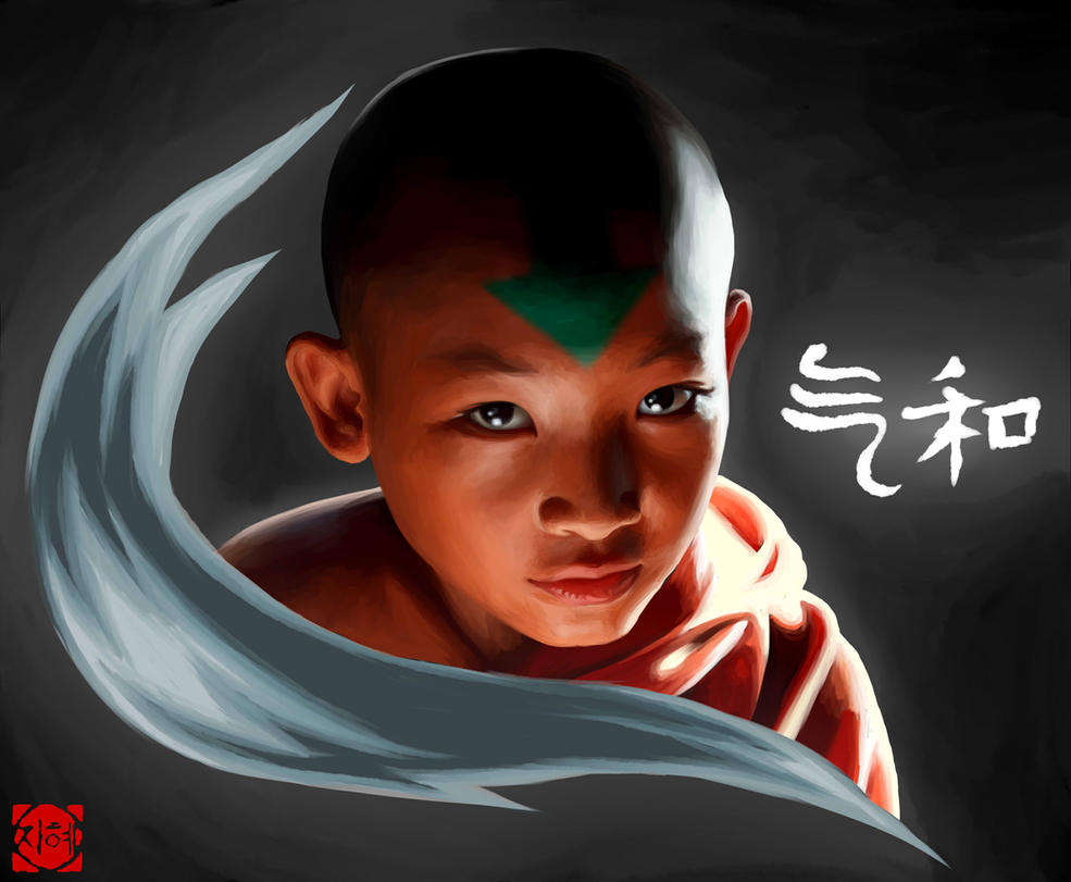 Wallpaper avatar aang