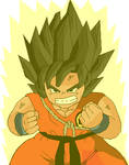 Chibi Goku false ssj