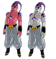 Majin Buu Frieza abs. by RobertoVile