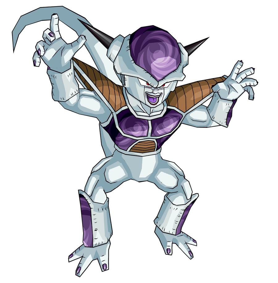 Frieza 1st form by RobertoVile on DeviantArt