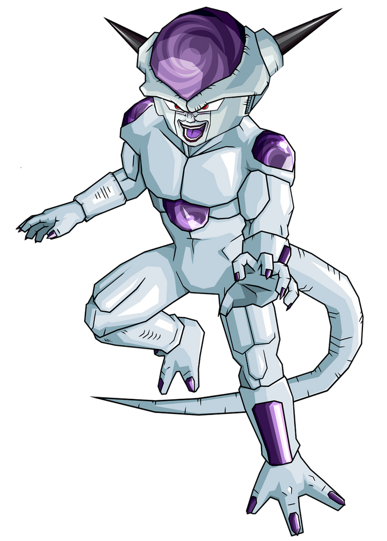 Full Power Frieza Coloring Pages