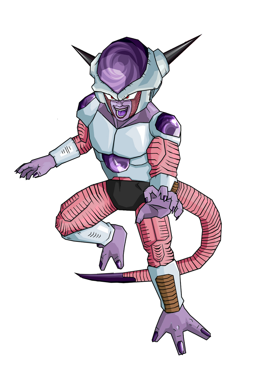 Frieza first form without armor by RobertoVile on DeviantArt