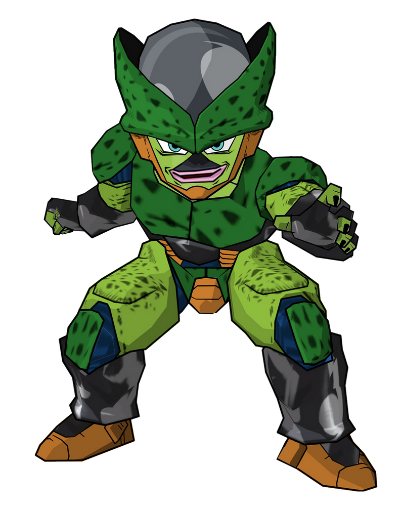 Kid cell second form by robertovile on deviantart - Dragon ball z baby cell ...