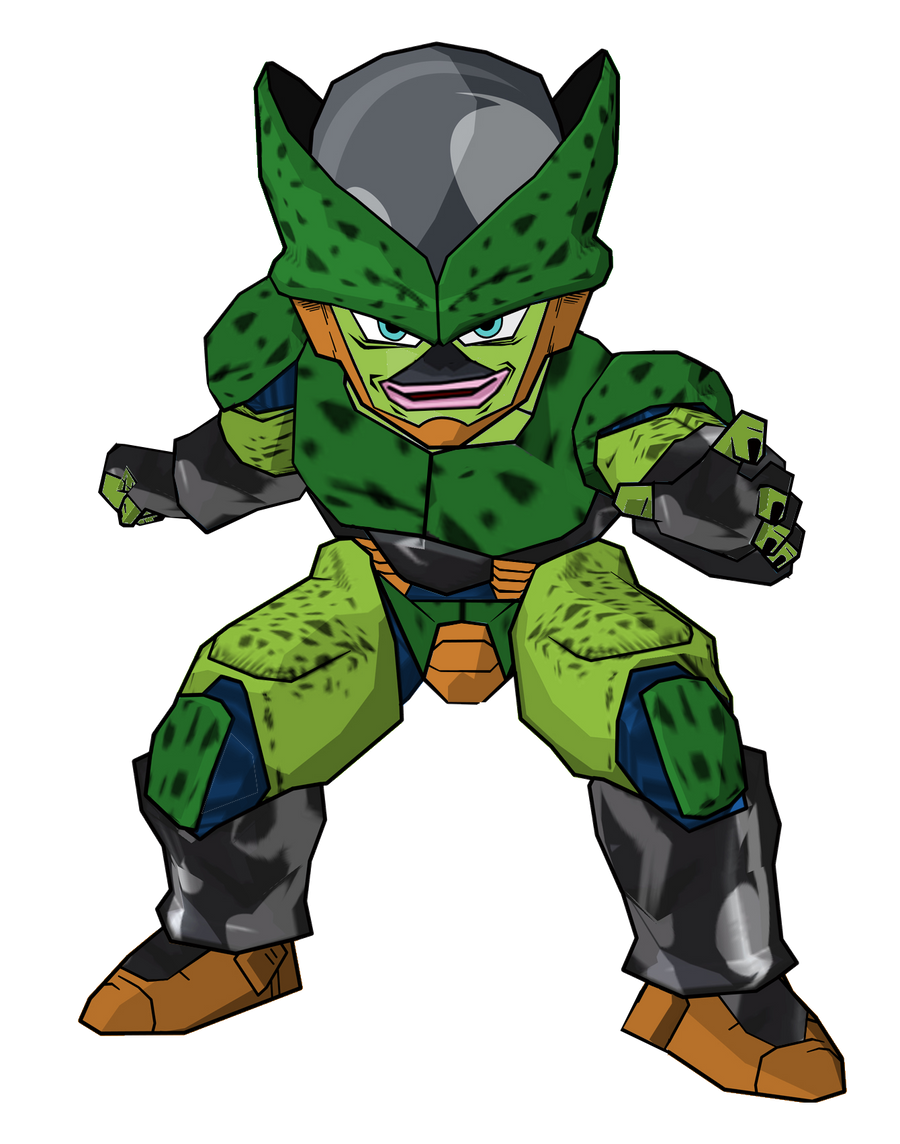 Kid Cell second form by RobertoVile on DeviantArt