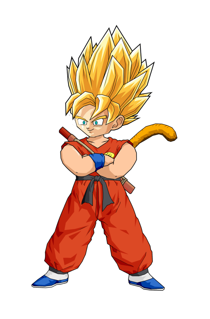 Kid Goku SSJ by RobertoVile on DeviantArt