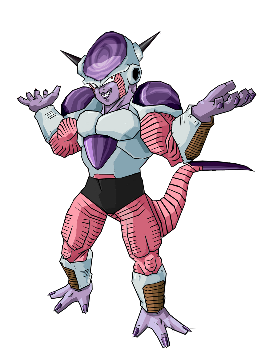 Full Power Frieza First Form by RobertoVile on DeviantArt