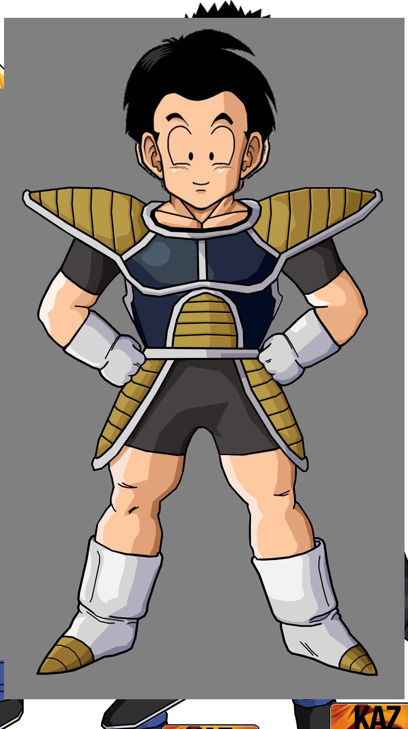 Krillin Saiyan Armor With Hair By Robertovile On Deviantart