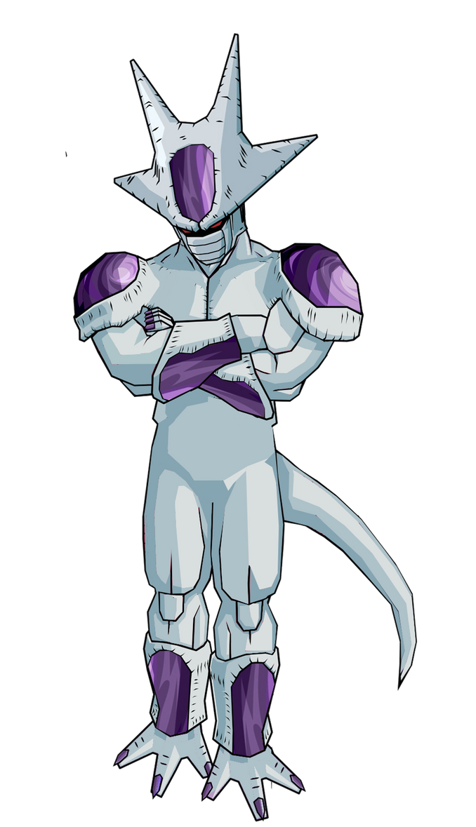 Dragon ball z frieza 5th form