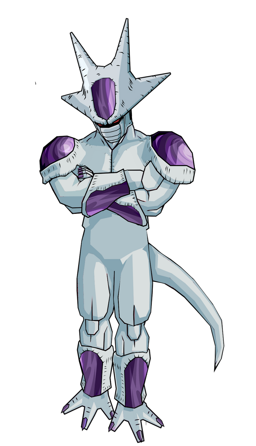 Frieza 3rd form by RobertoVile on DeviantArt