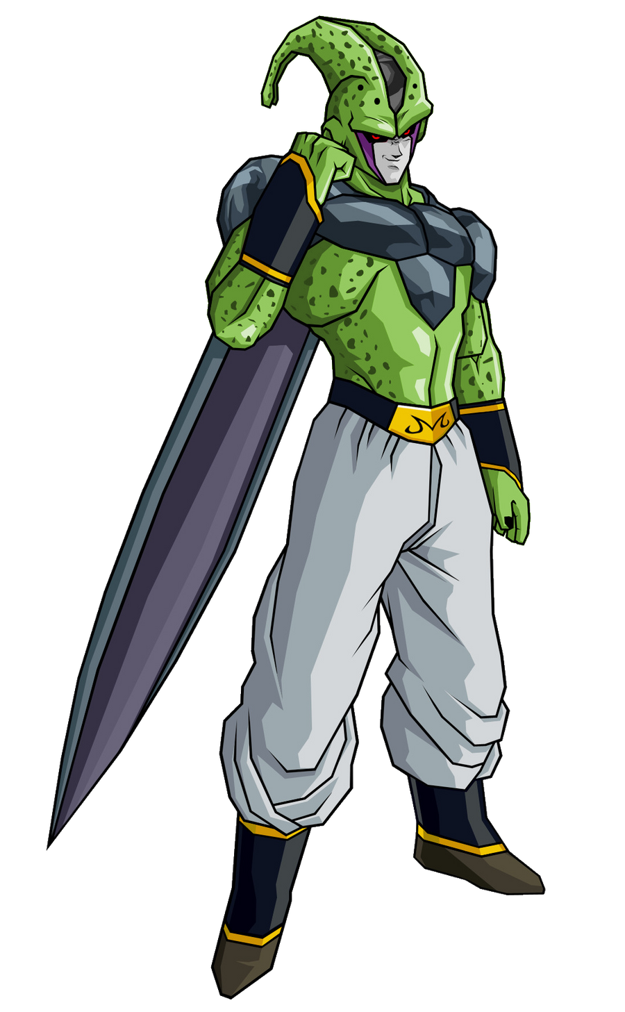 Majin Buu Cell abs. by RobertoVile on DeviantArt