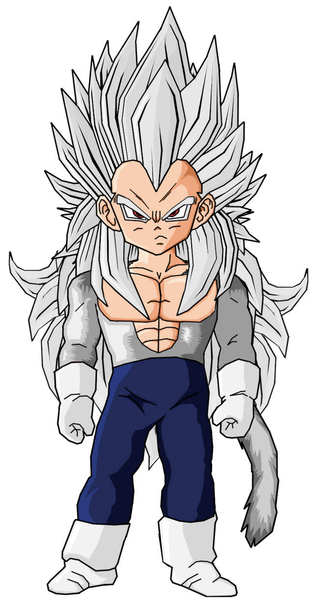 Baby Goku Ssj5 Kid Vegeta SSJ5 by Rob...