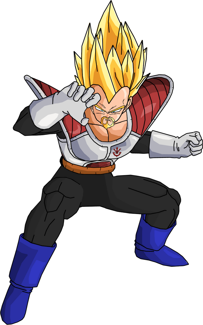 King Vegeta Super Saiyan 5 King Vegeta SSJ by RobertoVile