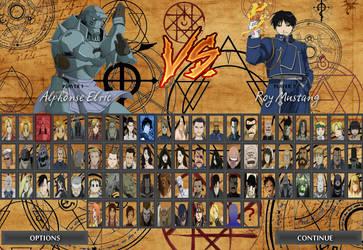 Fullmetal Alchemist Unlimited Roster by RobertoVile