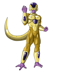 Rage Golden Frieza by RobertoVile