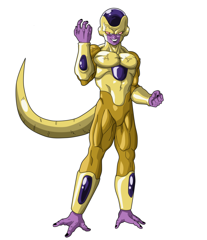 Rage Golden Frieza by RobertoVile on DeviantArt