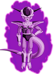 Dark Frieza 1st form by RobertoVile