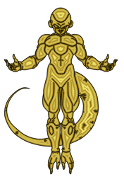 Pure Gold Frieza by RobertoVile