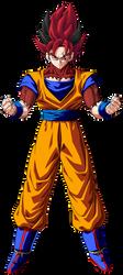 Goku ssj 0 by RobertoVile