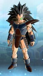 Raditz Manga Xenoverse 2