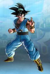 Goku Korean Manga Cover Xenoverse 2