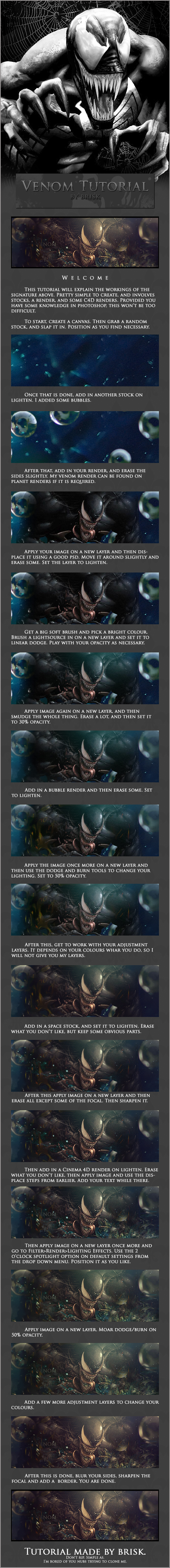 Venom Tutorial by brisktutorials