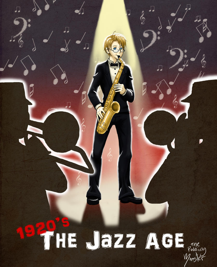 jazz age The jazz age marked a revolution in music, style, and how america did business.