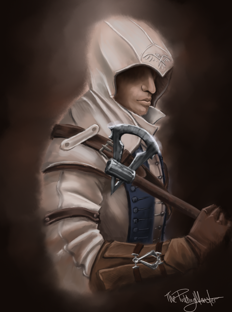 AC3 Connor by ThePuddingMonster