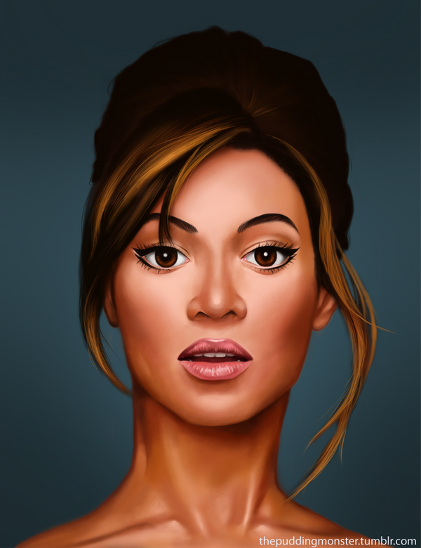 Beyonce - With Drawing Video by ThePuddingMonster