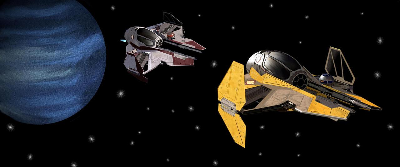 Large Star Wars Starfighter Wallpaper By Justachikwhodraws On Deviantart