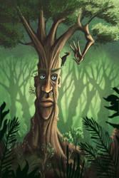 Tree Man by Art-Ranger